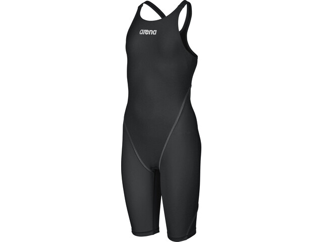 arena Powerskin St 2.0 Short Leg Open Full Body Swimsuit Meisjes, zwart